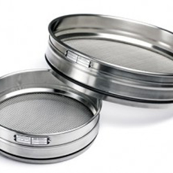 Sieve-Diam:100 mm, inside height: 45 mm, mesh 4.7